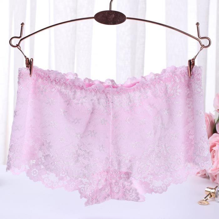 Slip vêtements vêtement Lingerie Sexy Culotte Femmes Rose Sous ML Thongs Sous En Dentelle zGqVpMSU