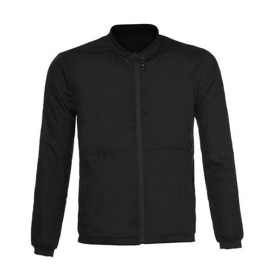 Peacoat Hommes noir Veste Vestes Homme Manteaux Hiver Automne Marque Vêtements EtqtwR