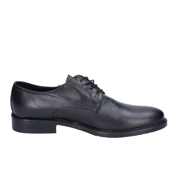 Homme Cuir Azzurra Chaussures Noir Ad671 Derbies 4qZ50nwZ