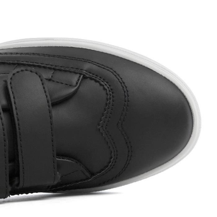 britannique de skate Casual Les taille39 Augmenté de intérieur noir Skateshoes Homme étudiantsStyle style wIqX00A