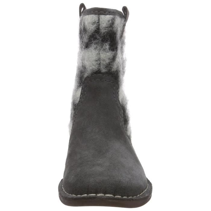 Sde Clarks Women's 36 Ydzg3 Taille Rock 1 Boots Cabaret 2 Leather twOF4rtdq