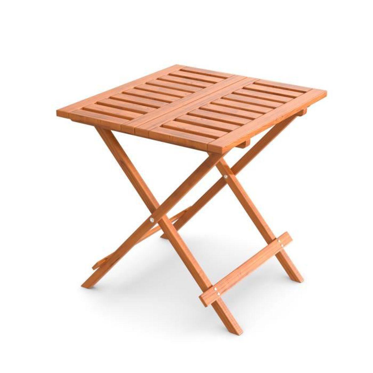 Ampel 24, table d\'appoint pliante pour jardin, balcon ...