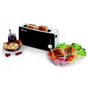 GRILLE-PAIN - TOASTER GRILLE-PAIN 127/01 1000W BL/NG TOUCHE FROID