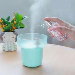 HUMIDIFICATEUR ÉLECT. lumière USB Mini Air Atomiseur nightmute aromathér