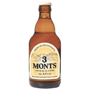 BIÈRE Bière blonde Trois Monts tradition 8.5° 33 cl 6 x