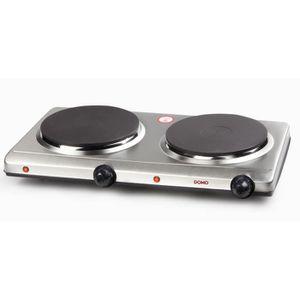 PLAQUE POSABLE DOMO DO311KP Plaque de cuisson posable en fonte -