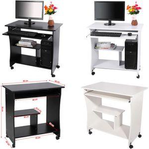 meuble ordinateur blanc achat vente meuble ordinateur blanc pas cher cdiscount. Black Bedroom Furniture Sets. Home Design Ideas