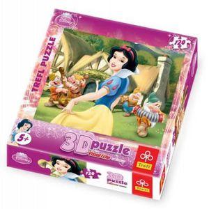 PUZZLE Effet 3D : Blanche Neige