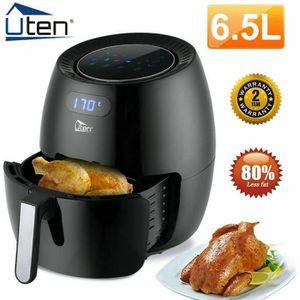 FRITEUSE ELECTRIQUE Uten® Friteuse à Air Électrique 6.5L, Friteuse san