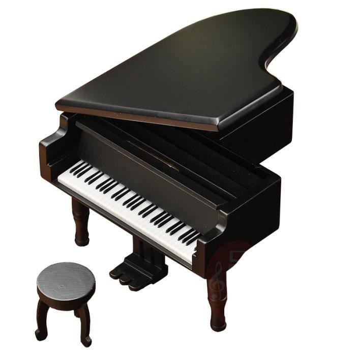 Imitation De Piano à Queue Boîte à Musique En Bois