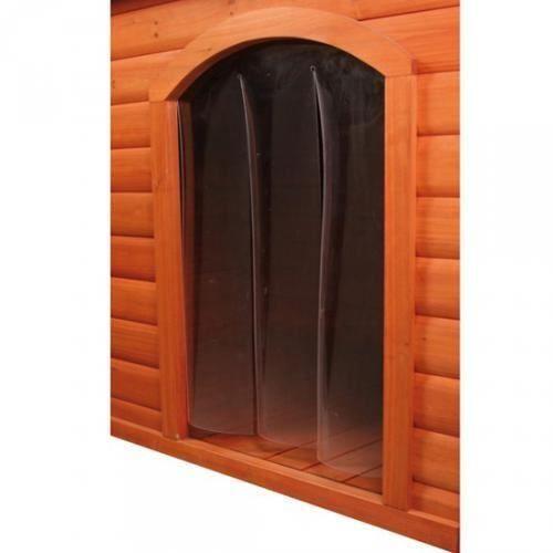 porte en plastique pour niche pour chien s 24 x 36 achat vente niche porte en. Black Bedroom Furniture Sets. Home Design Ideas