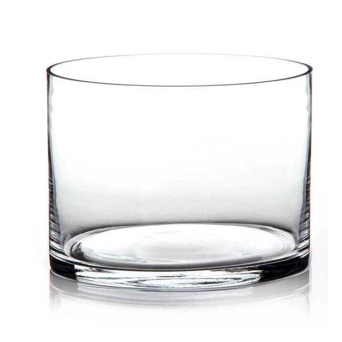 vase transparant verre achat vente vase transparant. Black Bedroom Furniture Sets. Home Design Ideas
