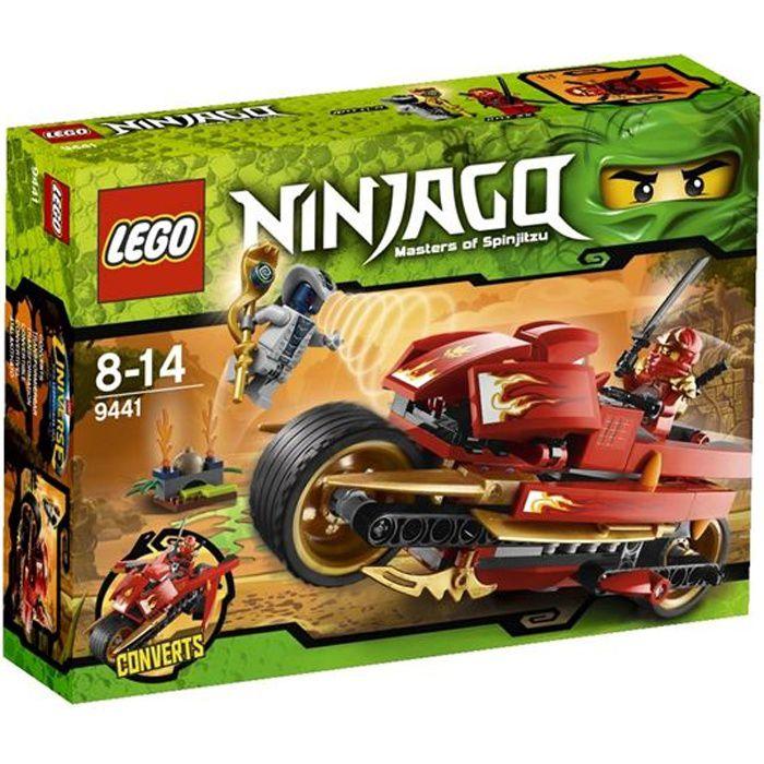 ASSEMBLAGE CONSTRUCTION Lego Ninjago - La Moto De Kai