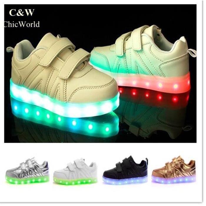 Nouvelle Arrivee LED Éclairage Enfants Chaussur...