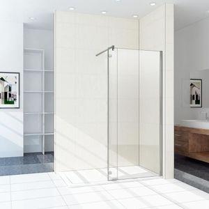 Paroi de douche 100x200 achat vente pas cher - Paroi douche fixe 100 cm ...