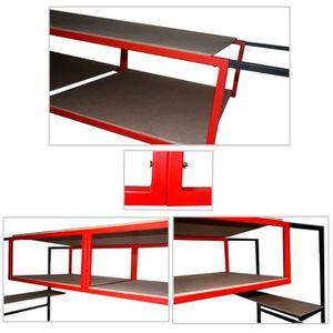 meuble rangement garage achat vente meuble rangement garage pas cher cdiscount. Black Bedroom Furniture Sets. Home Design Ideas