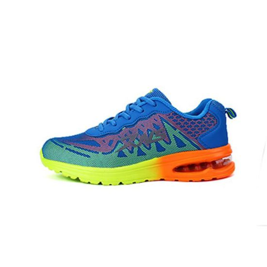 Basket femme Nouveau Mode Feminine Respirante Chaussures AIR-9888 Bleu Bleu Vente Bleu - Achat / Vente Bleu basket 8067c8