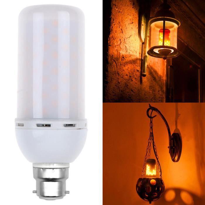 Flamme Effet Chaud zf434 Décor Blanc 5w Feu Flicker B22 Lampe Hotskynie®led Ampoule qFwRXtc