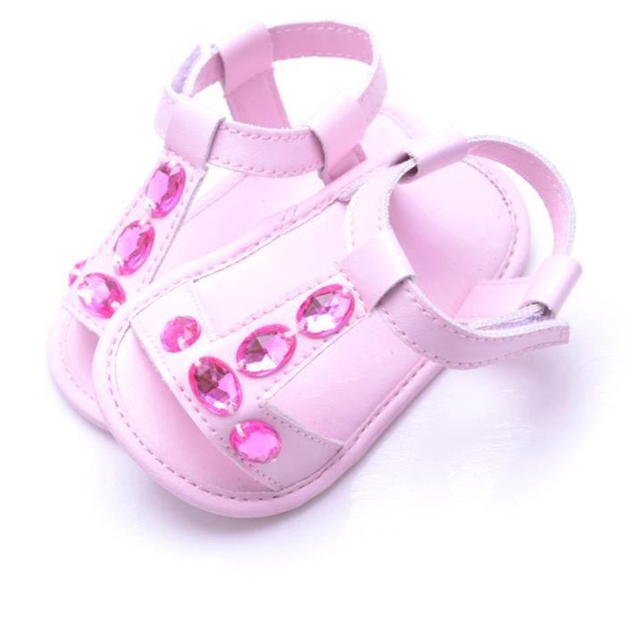Garçon rosehm âge dérapant Sandales Cristal Enfant En Anti été Fille Crèche Chaussures Bébé Botte Baskets Bas tTYHwZZq