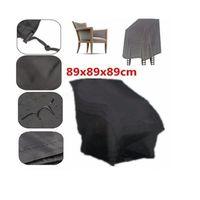 HOUSSE MEUBLE JARDIN  Housse de protection pour chaises de jardin 89*89*