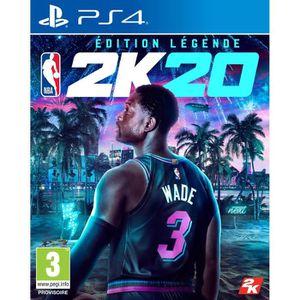 JEU PS4 NOUVEAUTÉ NBA 2K20 Édition Légende Jeu PS4