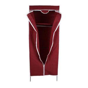 ARMOIRE DE CHAMBRE  Armoire Garde-robe toile penderie étagères rangem