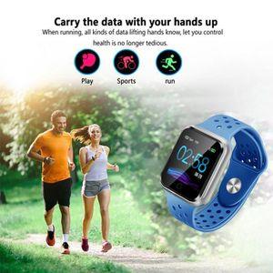 Système d'appel secours Smart Health Watch sang Taux de pression Moniteur