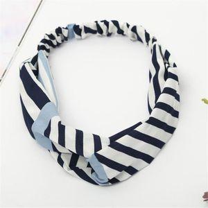 BANDEAU - SERRE-TÊTE Boho Floral Twist Knot bandeau élastique Wrap Turb