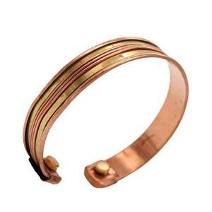 BRACELET - GOURMETTE Bracelet Cuivre avec aimants Magnétique Mixte Homm
