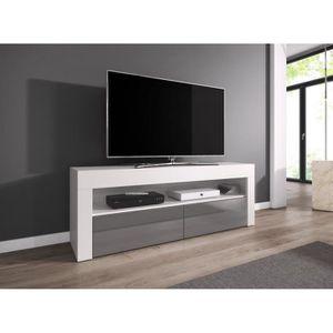 Meuble tv bas achat vente meuble tv bas pas cher for Table televiseur