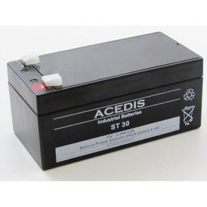 BATTERIE DOMOTIQUE Batterie plomb étanche 12V 3.5AH - ST30 ACEDIS