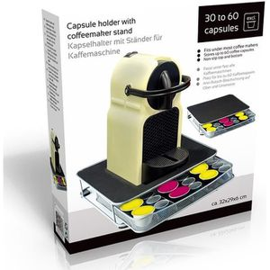 DISTRIBUTEUR CAPSULES Dosettes, supports Support machine a cafe avec tir