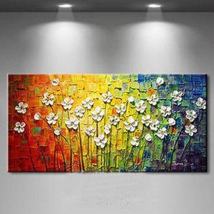 tableau peinture fleurs achat vente tableau peinture. Black Bedroom Furniture Sets. Home Design Ideas