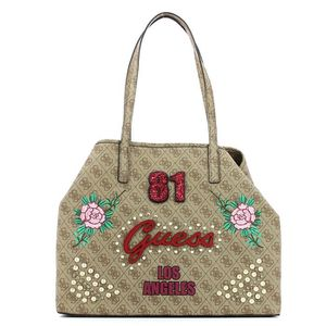 8a66634a33 SAC SHOPPING Vikky Large Tote Guess BROWN