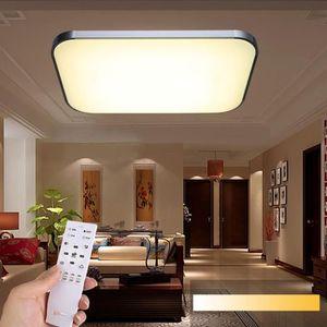 Avec Plafond 36w Lampe Salon Achat Télécommande Vente Led JcFKl1T