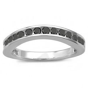 BAGUE - ANNEAU Bague Femme Diamants 0.75 ct  18 ct 750-1000 Or Bl