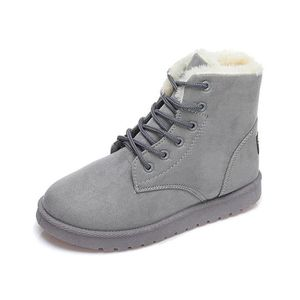BOTTINE Tomwell Femme Hiver Suede Neige Cheville Flat Boot