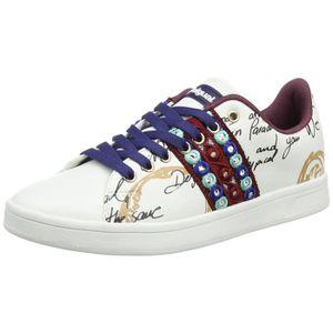 769a36ae43ce3 BASKET Desigual Shoes cosmic exotique Lettrage femmes Bas ...