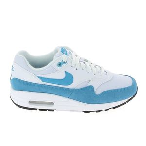 the best attitude 058a5 2275d BASKET Basket -mode - Sneakers NIKE Air Max 1 Blanc Bleu