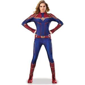 DÉGUISEMENT - PANOPLIE Déguisement Luxe Captain Marvel Movie™ - Adulte  M