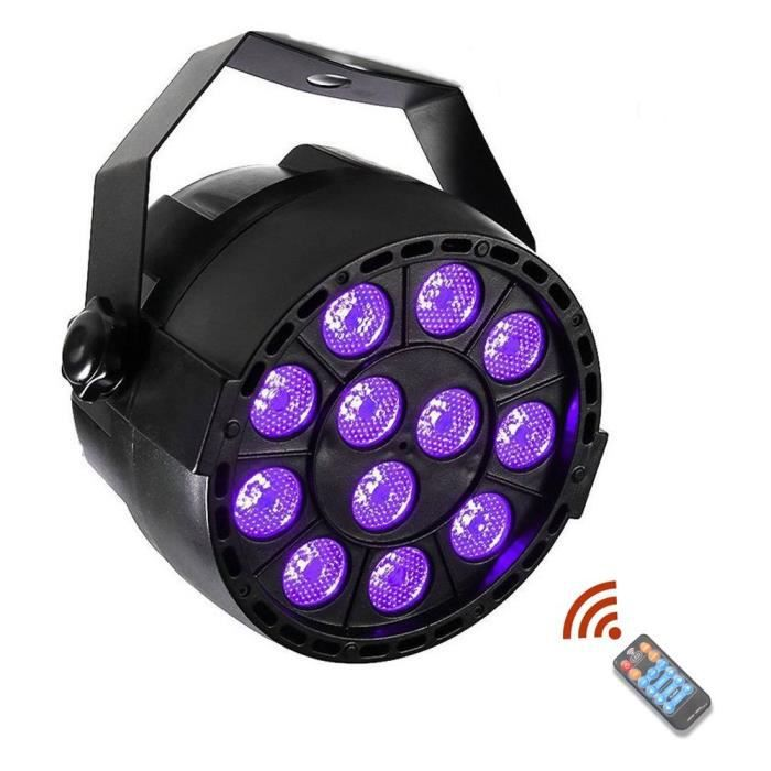 36W UV Par lumière noir DJ lumières partie 12 pcs LED dicso lumière effet d  éclairage d éclairage pour événements club partie pub di b1ea449a4a86