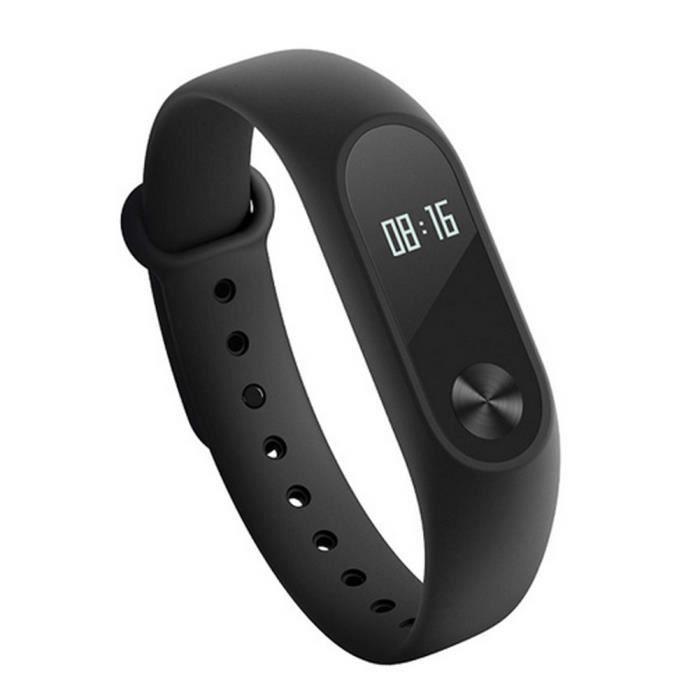 BRACELET MONTRE CONNEC. Bracelet Pour Xiaomi Mi Band 2 à fréquence cardiaq