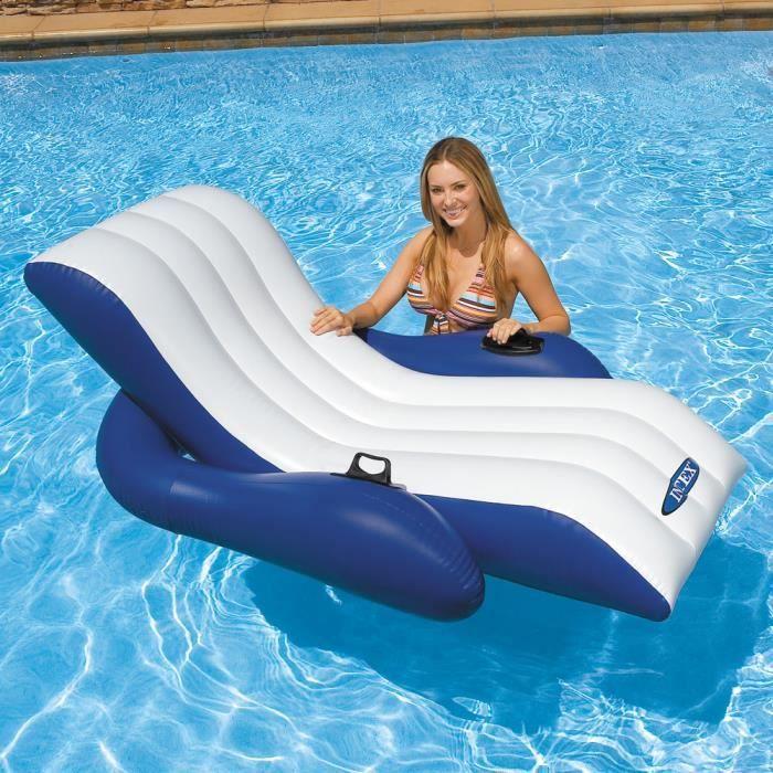 chaise longue fauteuil de piscine mer gonflable achat. Black Bedroom Furniture Sets. Home Design Ideas