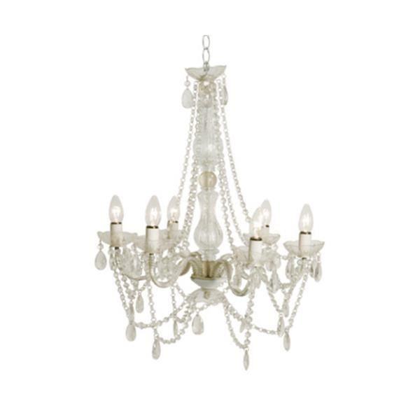 lustre baroque blanc transparent a pampilles 6 bra Résultat Supérieur 41 Inspirant Lustre Pampilles Pic 2018 Uqw1