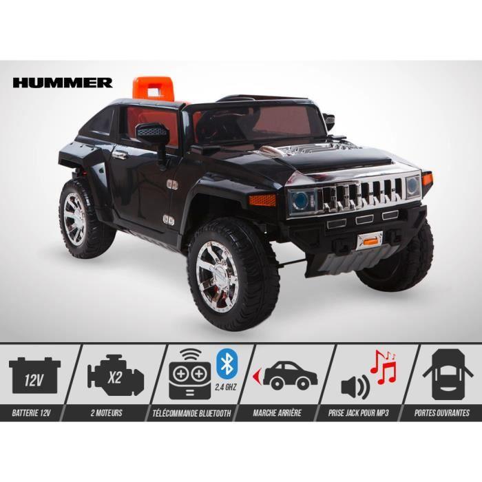 Voiture électrique enfant KINGTOYS - Hummer HX 70W - Noir - Achat ... 78da1542207c