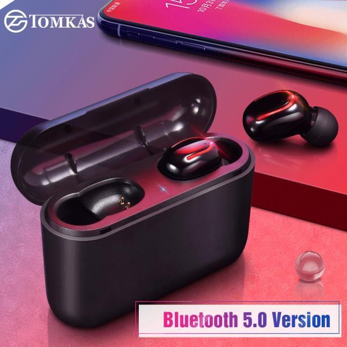 Tomkas Casque Audio Sans Fil 50 écouteurs Stéréo écouteurs