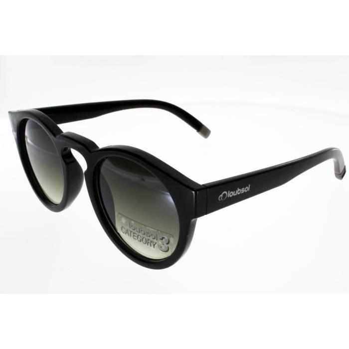 503f713a6457d9 LOUBSOL GABY Noir Femme Indice 3 - Achat   Vente lunettes de soleil ...