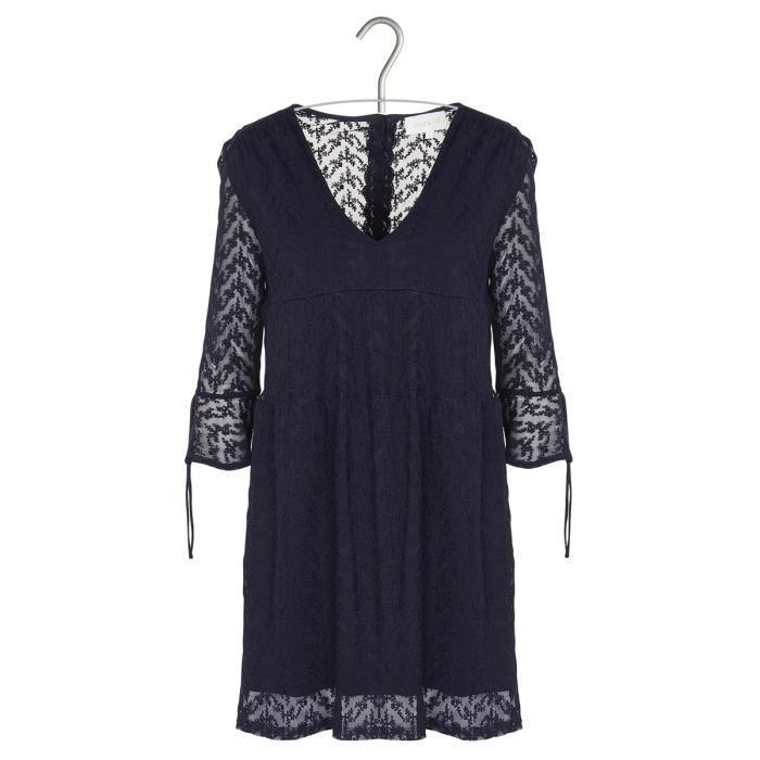 fc1c1441a285c Robe court ample Grace   Mila pour Femme Bleu Bleu - Achat   Vente ...