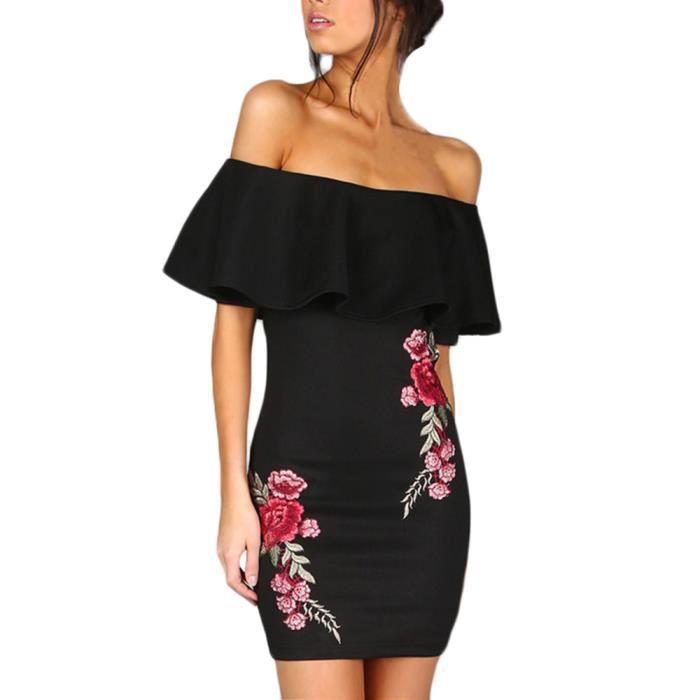Femmes hors épaule sans manches robe de soirée robe à manches longues @ zf20