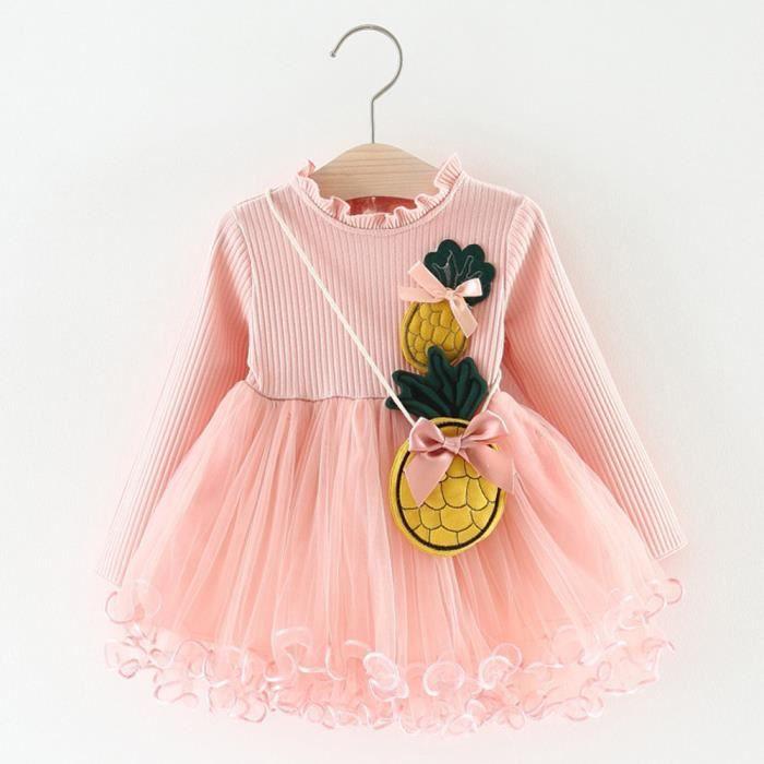 Guayix Tout-petit Enfant Filles Vêtements de bébé Pineapple partie ... 4dc55c720b4c